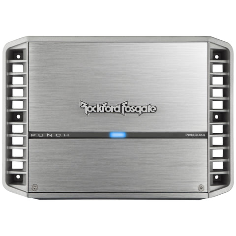 Rockford Fosgate PM400X4, Punch Series 4 Channel Marine Amplifier