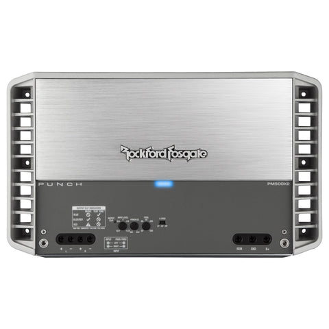 Rockford Fosgate PM500X2, Punch Series 2 Channel Marine Amplifier