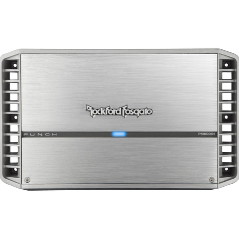 Rockford Fosgate PM600X4, Punch Series 4 Channel Marine Amplifier