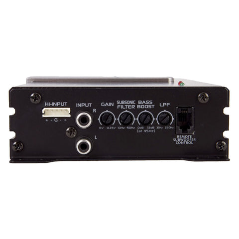 Soundstream PN1.650D,Picasso Nano Monoblock Class D Car Amplifier, Small Size, Bass Remote - 1300W