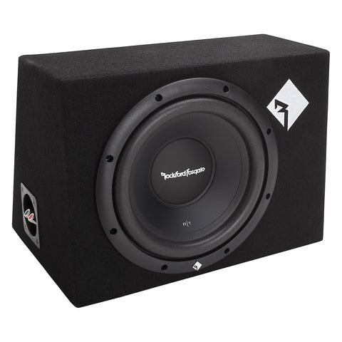 "Rockford Fosgate R1-1X10, Prime 10"" Sealed Loaded Enclosure, 200 Watts RMS"