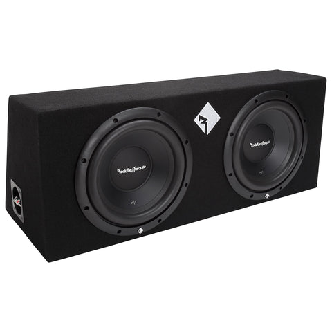 "Rockford Fosgate R1-2X10, Prime Dual 10"" Sealed Loaded Enclosure, 400 Watts RMS"