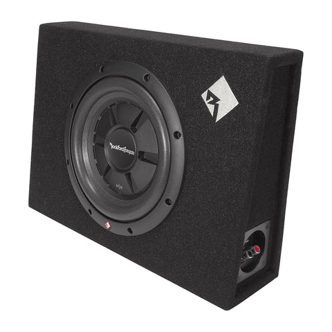 "Rockford Fosgate R2S-1X10, Prime 10"" Sealed Slim Loaded Enclosure, 200 Watts RMS"
