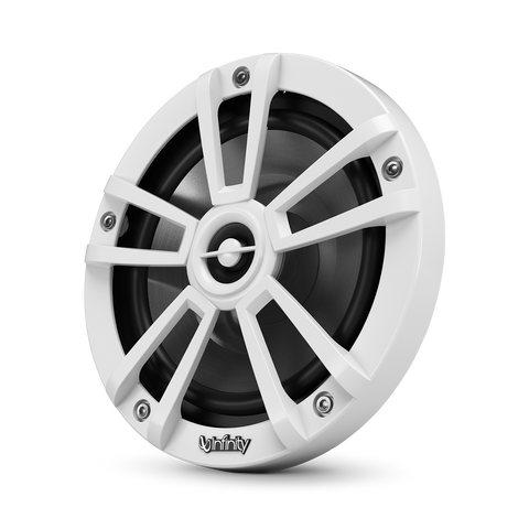 "Infinity 622MW, 6.5"" 2-Way Marine Coaxial Speaker - White"