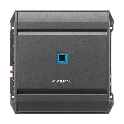 Alpine S-A32F, S Series Class D 4 Channel Digital Amplifier, 320 Watts