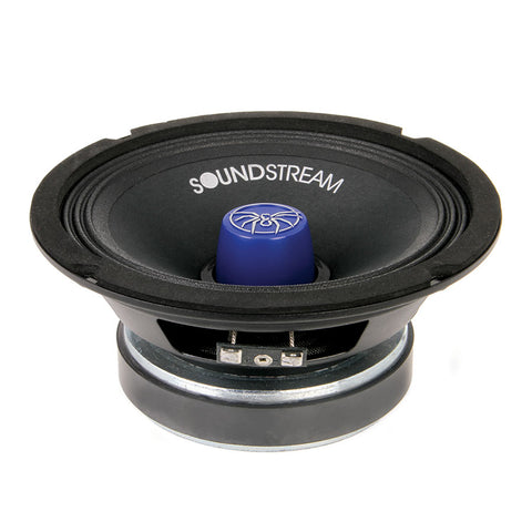 "Soundstream SM.650PRO,SM Pro Die-Cast 6.5"" Pro Audio Speaker, 250W, 4 Color Changeable"