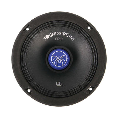 "Soundstream SM.650PROC,SM Pro Die-Cast 6.5"" Pro Audio Components w/ Tweeters-Crossovers, 250W, 4 Colors"