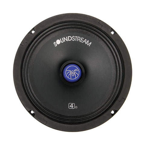 "Soundstream SM.800PRO,SM Pro Die-Cast 8"" Pro Audio Speaker, 400W, 4 Color Changeable"