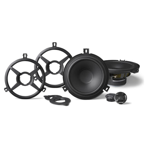 "Alpine SPV-65X-WRA, 6.5"" 2-Way Weather Resistant Speaker System for 2007-2018 Jeep® Wrangler JK"