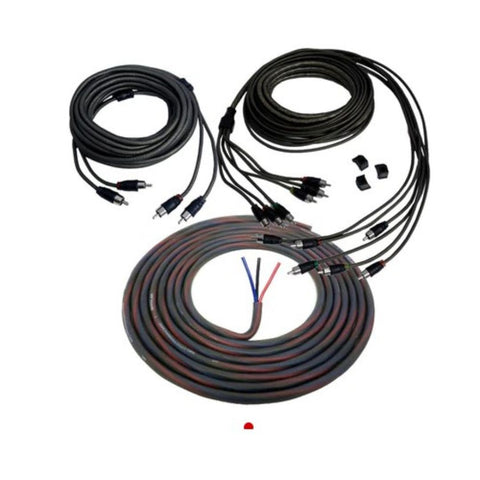 Wet Sounds SIGNAL KIT PORT, WWRCA 2 Ch 7m & WWRCA 6ch 7m & 23' of WWPRIM3 cable