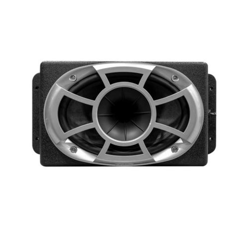 Wet Sounds REV 6X9-SM-B, REV Series 6x9 HLCD w/ Surface Mountable Roto-mold Enclosure & Grill - Black