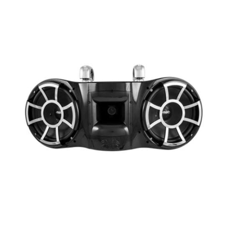 "Wet Sounds REV 410 B-SC, REV 410 Dual 10"" Tower Speakers With Swivel Clamp - 800W"