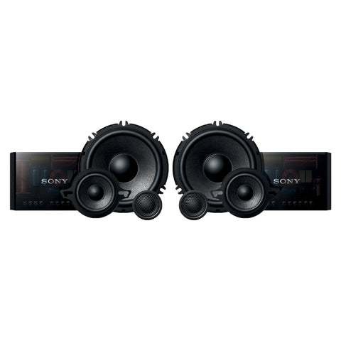 "Sony XS-GS1631C, GS Series 6.5"" 3-Way Component Car Speaker - 320 Watts"