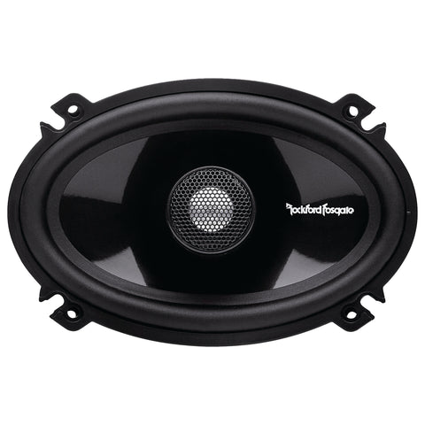 "Rockford Fosgate T1462, Power 4X6"" Full Range 2-Way Coaxial Car Speakers, 90W"