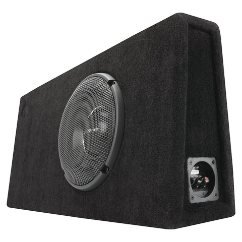 "Rockford Fosgate T1S-1X10P, Punch 10"" Ported Loaded Enclosure, 500 Watts RMS"