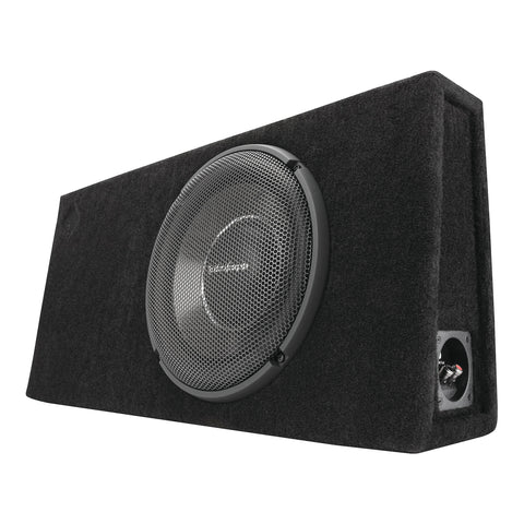 "Rockford Fosgate T1S-1X12, Punch 12"" Sealed Loaded Enclosure, 600 Watts RMS"