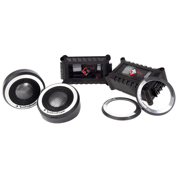"Rockford Fosgate T2T-S, Power 1"" Car Tweeters"