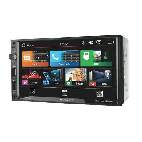 "Soundstream VM-700HB, 2-DIN Digital Media (no DVD) w/ Phonelink, Bluetooth & 7"" Capacitive LCD"
