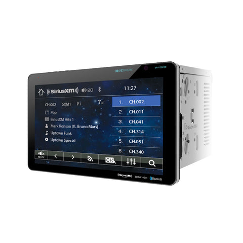 "Soundstream VR-1032XB, 2-DIN AptiX Source Unit, SXM Ready, w/ Bluetooth, & Detachable 10"" LCD"