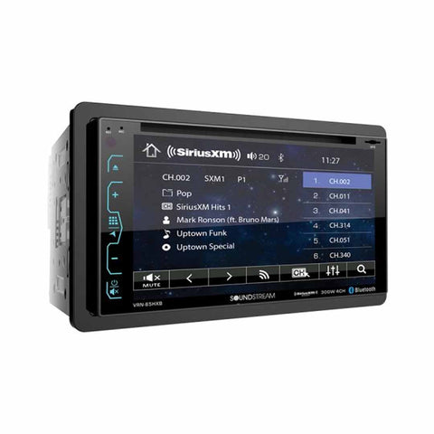 "Soundstream VRN-65HXB, 2-DIN AptiX Source Unit w/ iGO GPS, PhoneLink, SXM Ready, & 7"" LCD"