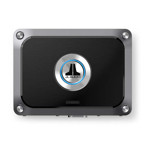 JL Audio JL-VX400/4i, VXi Series Class D 4 Channel Amplifier w/ Integrated DSP, 400W