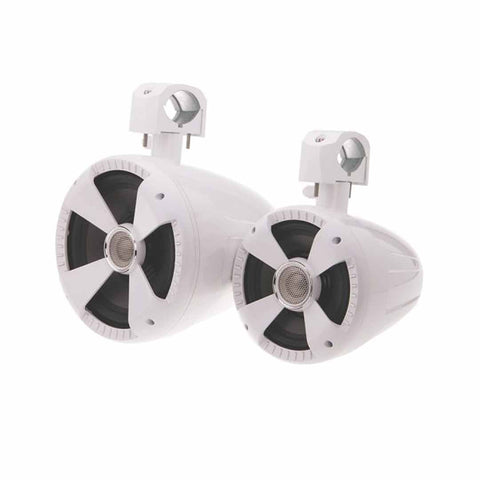Soundstream WTS-6W,Marine Gloss White 6.5Ó Wake Tower Speakers