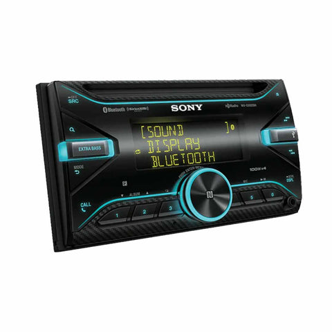Sony WX-GS920BH, Double Din CD/MP3 Bluetooth Car Stereo w Variable Color Display