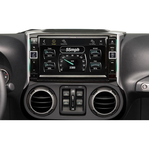 "Alpine X109-WRA, 9"" In-Dash Restyle System For select 2011-up Jeep Wrangler and Wrangler Unlimited models"