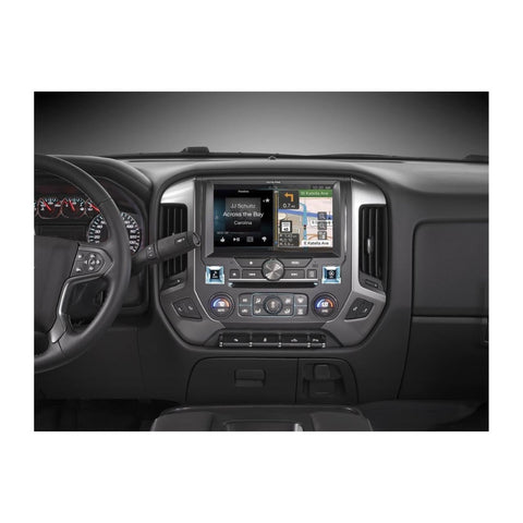 "Alpine X110-SLV, 10"" In-Dash Restyle System For select 2014-up Chevrolet Silverado trucks without Bose"
