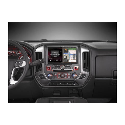 "Alpine X110-SRA, 10"" In-Dash Restyle System For select 2014-up GMC Sierra trucks without Bose"
