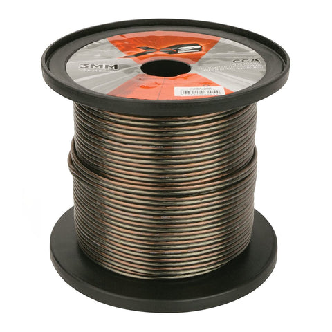 X2 by Scosche X2S3-200, 3mm Speaker Wire Spool, 200 Ft.