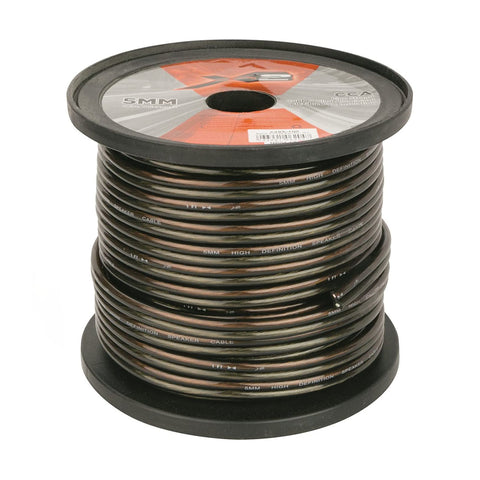 X2 by Scosche X2S5-100, 5mm Speaker Wire Spool, 100 Ft.
