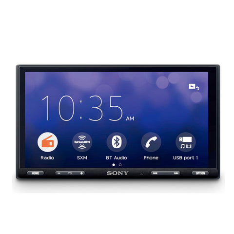 "Sony XAV-AX5500, 6.95"" Double Din Car Media Receiver Apple CarPlay / Android Auto"