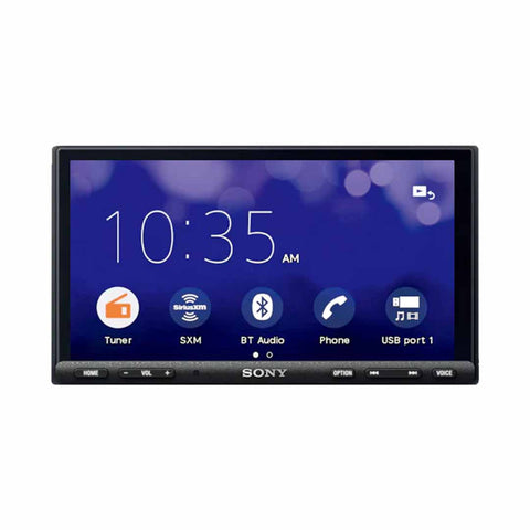 "Sony XAV-AX7000, 6.95"" High Power Digital Multimedia Receiver Player w/ CarPlay and Android Auto"