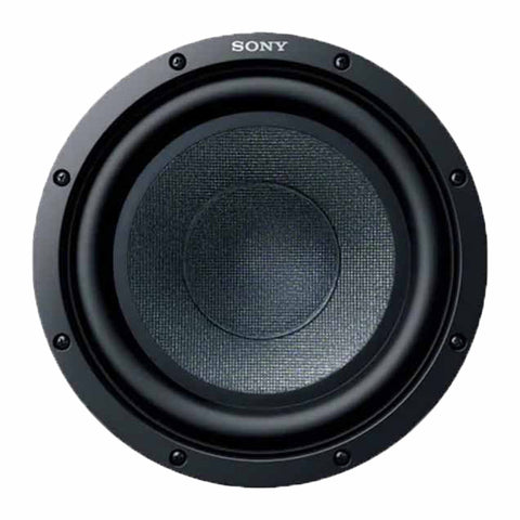 "Sony XS-GSW121, GS Series 12"" Single Voice Coil Car Subwoofer - 500 Watts"