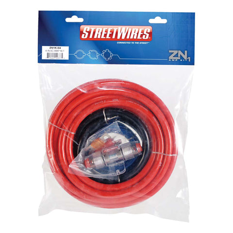 MTX ZN1K-04, ZN1 Amp Kit, 4 AWG Red