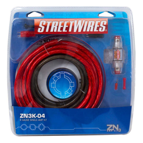 MTX ZN3K-04, ZN3 Amp Kit, 4 AWG Red