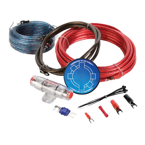 MTX ZN3KI-08, ZN3 Amp Kit, 8 AWG Red w/ Interconnect