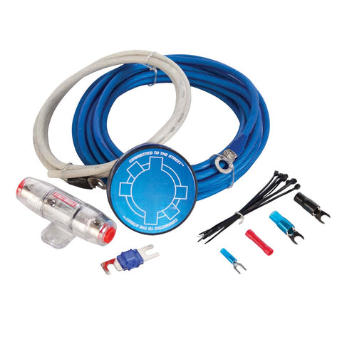 MTX ZN5K-04, ZN5 Amp Kit, 4 AWG Blue