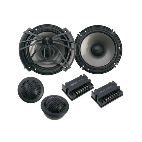 "Soundstream AC.6,Arachnid 6.5"" 2-way Component Car Speaker Set - 300W"