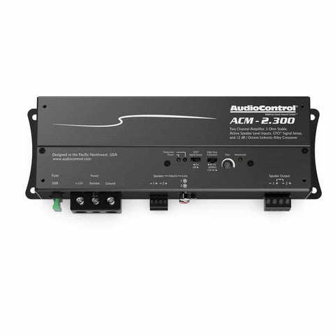AudioControl ACM-2.300, ACM Series 2 Channel Class D Micro Amplifier, 300 Watts