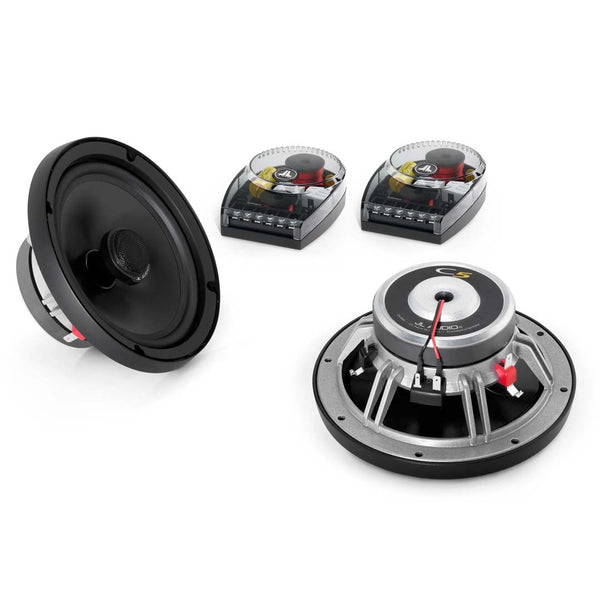 "JL Audio C5-650X, C5 Series 6.5"" Coaxial Speakers, 225W"