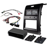 Scosche ITCFD02B, Integrated Touch 2013-2014 Ford F150 Double Din Dash Kit