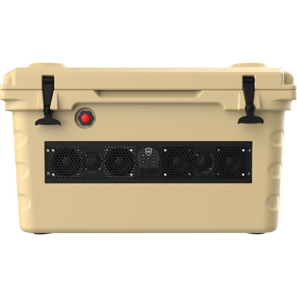 Wet Sounds SHIVR-55-TAN, SHIVR Cooler w/built-in lithium battery powered STEALTH 6 soundbar - Tan