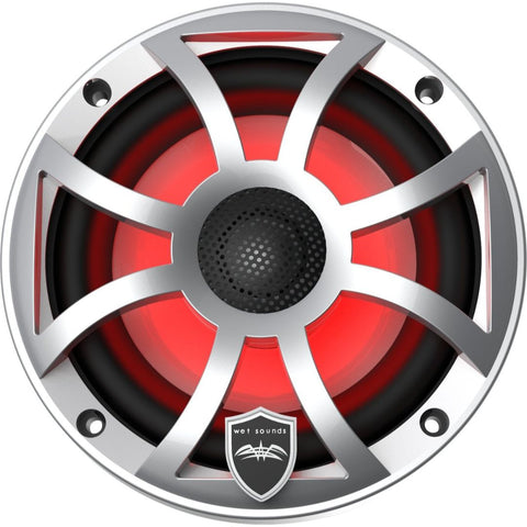"Wet Sounds REVO 6-XSS, XS 6.5"" Coaxial Marine Speakers - Silver"