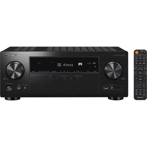 Pioneer VSX-934, 7.2 Channel Bluetooth Capable with Dolby Atmos 4K Ultra HD HDR Compatible A/V Home Theater Receiver