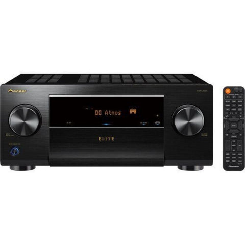 Pioneer Elite VSX-LX504, Elite 9.2 Channel Bluetooth Capable with Dolby Atmos 4K Ultra HD HDR Compatible A/V Home Theater Receiver