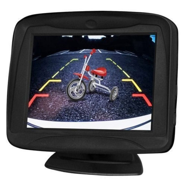 iBeam TE-35MV, 3.5 Inch Dash Mount Monitor With Multiview