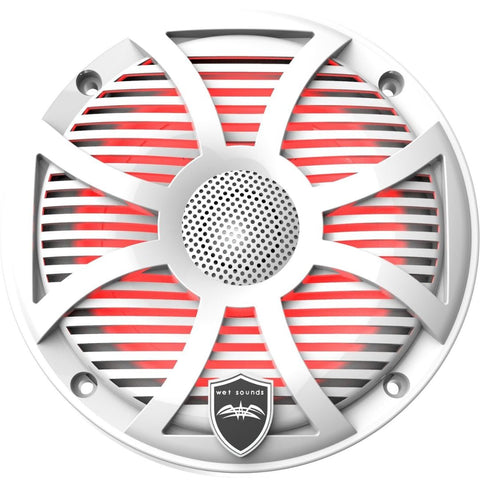 "Wet Sounds REVO 6-SWW, SW 6.5"" Coaxial Marine Speakers - White"