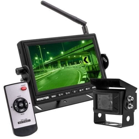 iBeam TE-WMSC, 7 Inch WIReless Monitor With WIReless Camera